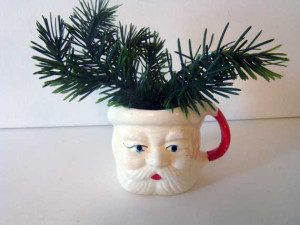 It is not the holiday's in the Hornsby house without a santa mug!