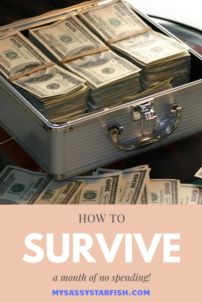 How to Survive a Month of No Spending