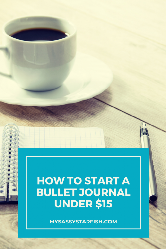 How to Start a Bullet Journal Under $15