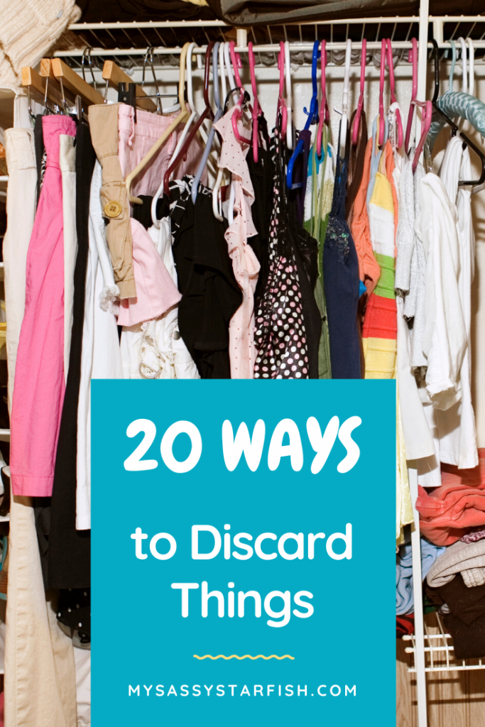 20 Ways to Discard Things